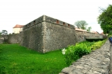 Defensive walls of the Uzhgorod Castle / Alexandra Mulla