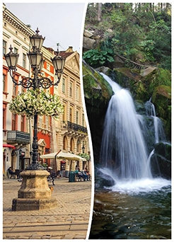 Lviv + Carpathian spa