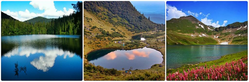 10 казкових озер Карпат