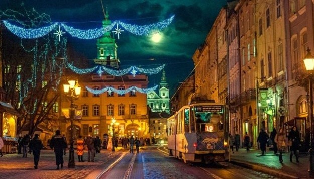 TOP 14 Places in Western Ukraine to Celebrate the New Year