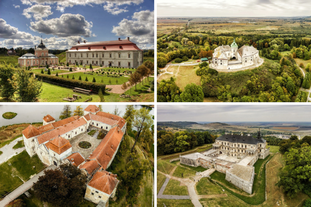 4 Beautiful Ukrainian Castles You Can Visit Near Lviv
