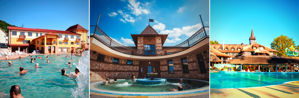 7 термальних басейнів Закарпаття